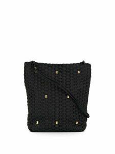 Salvatore Ferragamo Pre-Owned braided Vara Chain tote - Black