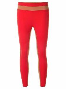 Vaara Flo Tuxedo leggings - Red