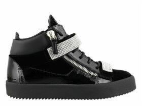 Giuseppe Zanotti Crystal Mesh Sneakers