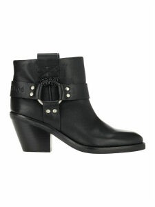 See By Chloe Western Ankle Boots