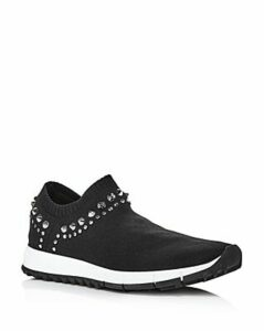 Jimmy Choo Women's Verona Knit Slip-On Sneakers