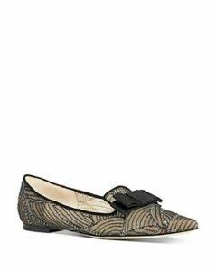 Jimmy Choo Women's Gala Pointed-Toe Flats