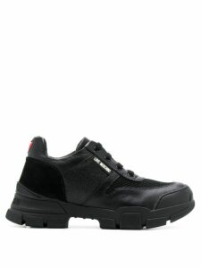 Love Moschino chunky low top sneakers - Black