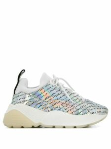 Stella McCartney Eclypse monogram sneakers - SILVER