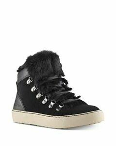 Cougar Women's Dani Waterproof Fur Trim High-Top Sneakers