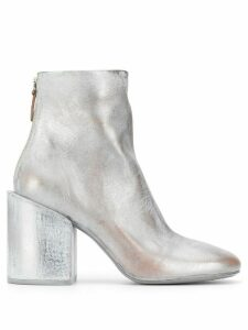 Marsèll distressed metallic-effect ankle boots - Grey