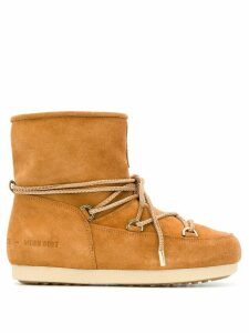 Moon Boot lace-up snow boots - Brown