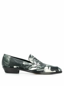Paul Smith printed loafers - 79 BLACK