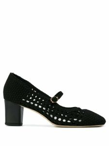 Repetto knitted pointed pumps - Black