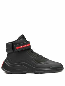 Prada Linea Rossa high-top sneakers - Black