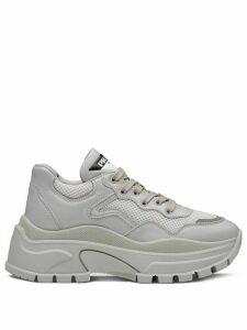Prada chunky panelled sneakers - Grey