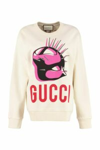 Gucci Cotton Crew-neck Sweatshirt