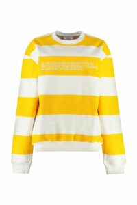 Calvin Klein Jeans Striped Cotton Sweatshirt