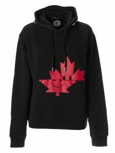 Dsquared2 Smiley Maple Leaf Hoodie