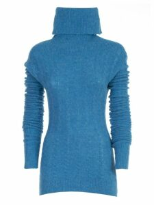 Jacquemus Le Maille Sofia Sweater W/braids High Neck