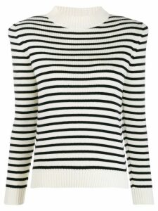 Saint Laurent Structured Striped Jumper