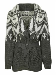 Brunello Cucinelli Knit Belted Cardigan