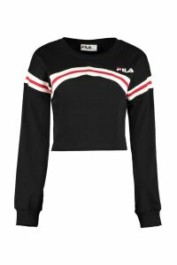 Fila Logo Print Long-sleeve Top