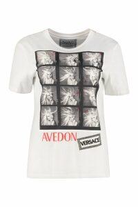 Versace Avedon X Versace Printed Cotton T-shirt