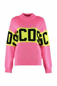 GCDS Logo Intarsia Sweater