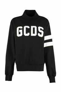 GCDS Logo Detail Cotton Sweatshirt