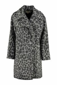 MICHAEL Michael Kors Wool Blend Double-breasted Coat