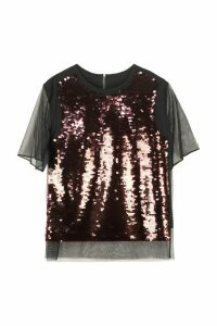McQ Alexander McQueen Sequined Top
