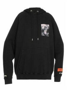 HERON PRESTON Heron Patch Sweatshirt