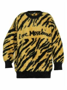 Love Moschino Animalier Sweater