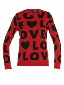 Love Moschino Wool Blend Sweater