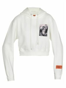 HERON PRESTON Cropped Sweatshirt
