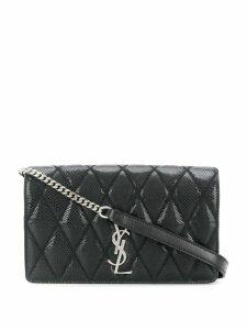 Saint Laurent quilted crossbody bag - Black