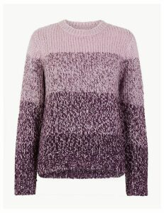 M&S Collection Sequin Colour Block Jumper