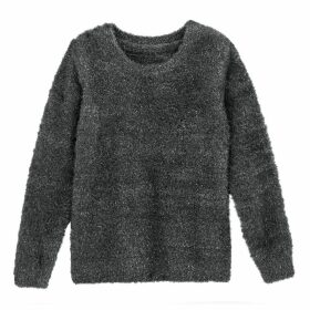 Crew-Neck Sparkle Knit Jumper