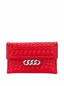 Casadei Catenassé clutch bag - Red