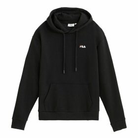 Ebba Slip-On Hoodie in Cotton Mix with Pocket
