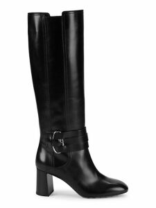 Gomma Knee-High Leather Boots
