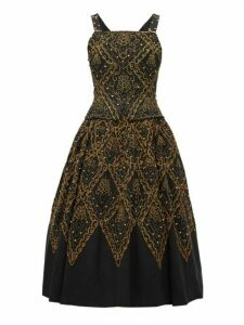 William Vintage - Dior 1955 Mexico Faille Gown - Womens - Black