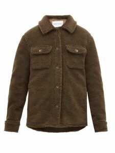 Stand Studio - Jeremy Teddy-fleece Overshirt - Womens - Khaki