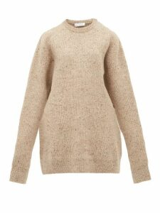 Raey - Oversized Marled Wool-blend Sweater - Womens - Brown