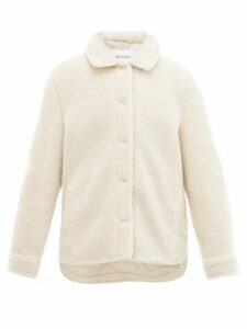Stand Studio - Jeremy Teddy-fleece Overshirt - Womens - Ivory
