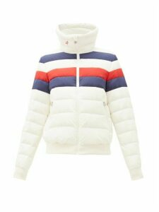 Perfect Moment - Queenie Down-filled Jacket - Womens - White Multi