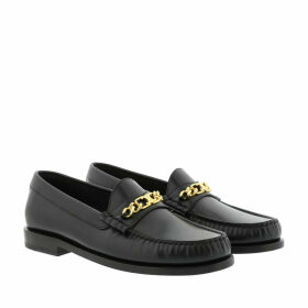 Celine Loafers & Slippers - Luco Triomphe Loafer Leather Black - black - Loafers & Slippers for ladies