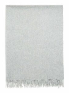Frayed Cashmere Throw