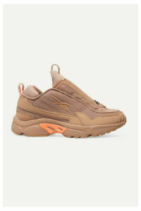 Reebok - + Gigi Hadid Dmx 2200 Mesh And Leather Sneakers - Blush