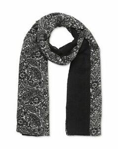 Gerard Darel Clemence Paisley Wool Scarf