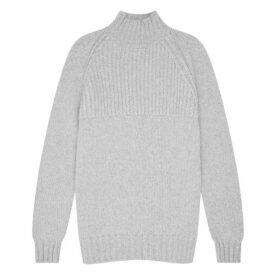 Shackleton Nimrod Cashmere Funnel Neck Sweater