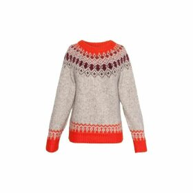 Gerard Darel Wool Jacquard Savina Sweater