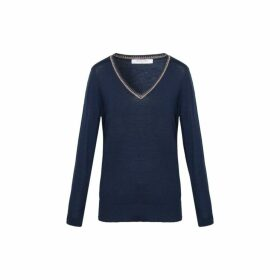 Gerard Darel Light Wool Salma Sweater With Lurex