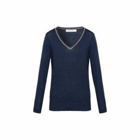 Gerard Darel Light Wool Salma Sweater With Lurex